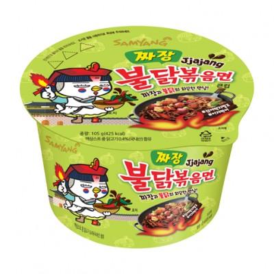 Hot Chicken Jjajang Big Bowl 105g