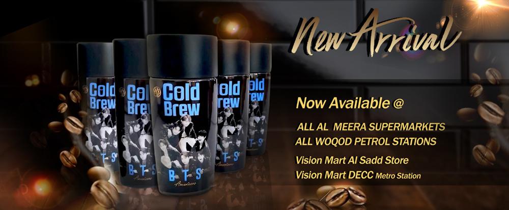 Cold Brew Coffee - BTS