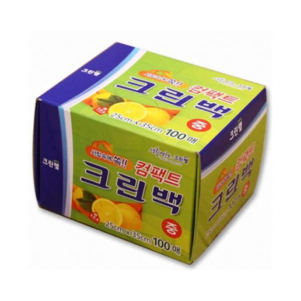 Cleanwrap Compact Clean Bag 30cm*45cm*100pcs