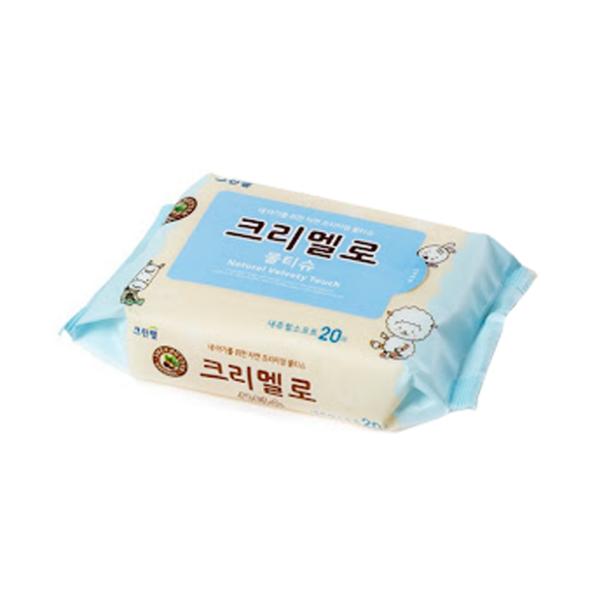 Creamello Blue Wet Tissue 20pcs