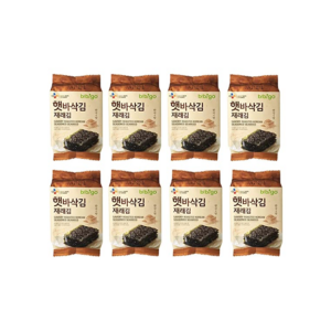 Savory Roasted Korean Seasoned Seaweed 8pcs
