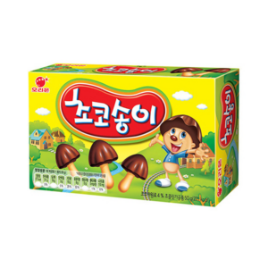 Songyi (bread stick with cocoa)