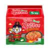 Hot Chicken Ramen Noodles Kimchi 135g x 5pcs