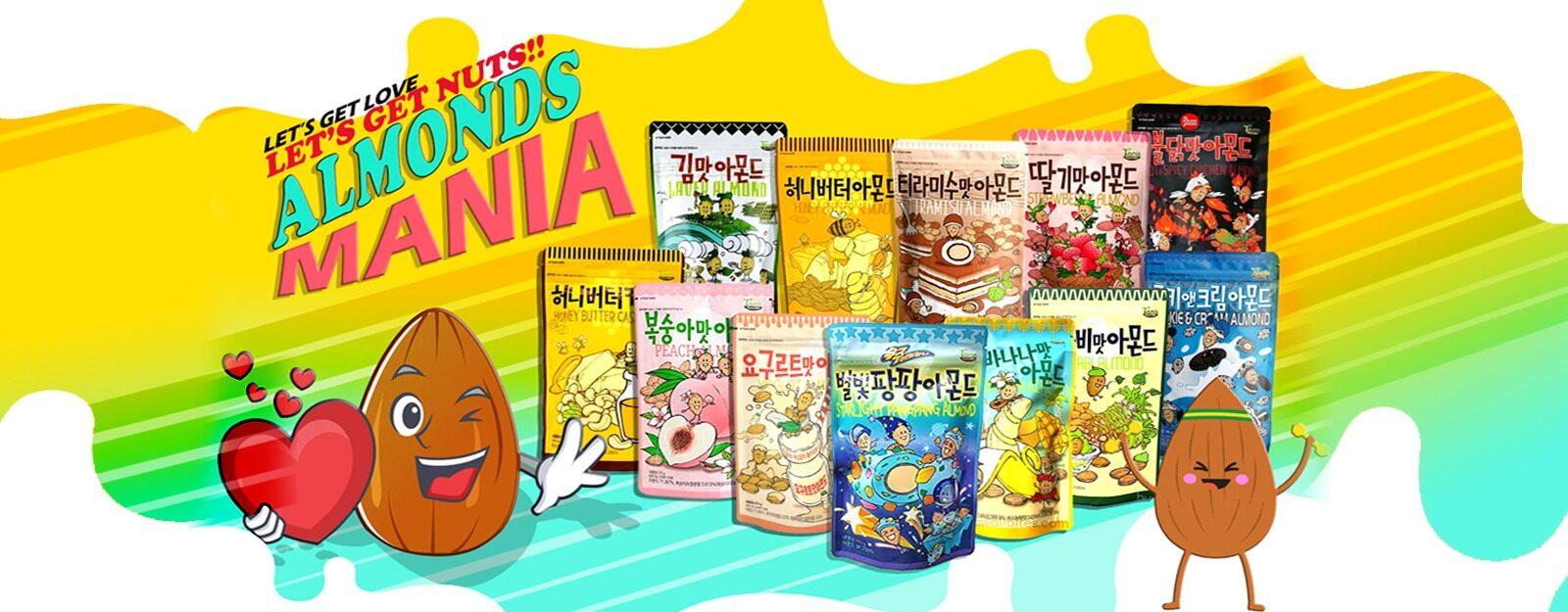 Almonds Mania