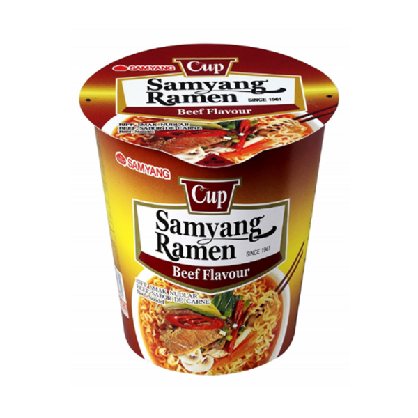 Samyang Beef Flavour Ramen Cup 65g