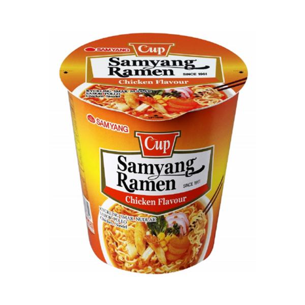 Samyang Chicken Flavour Ramen Cup 65g