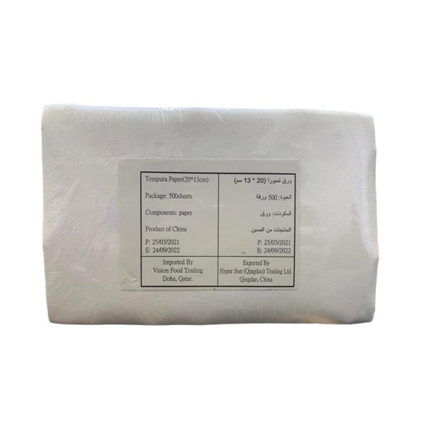 Tempura Paper 500 Sheets (20x13cm)