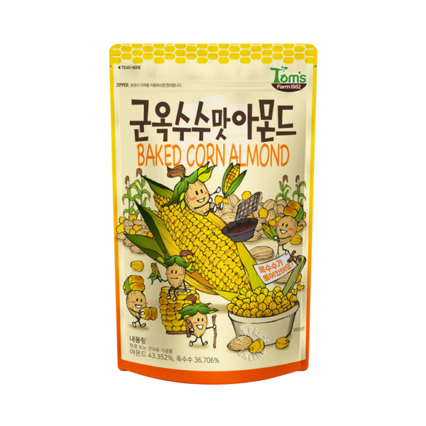 Baked Corn Almond 210g
